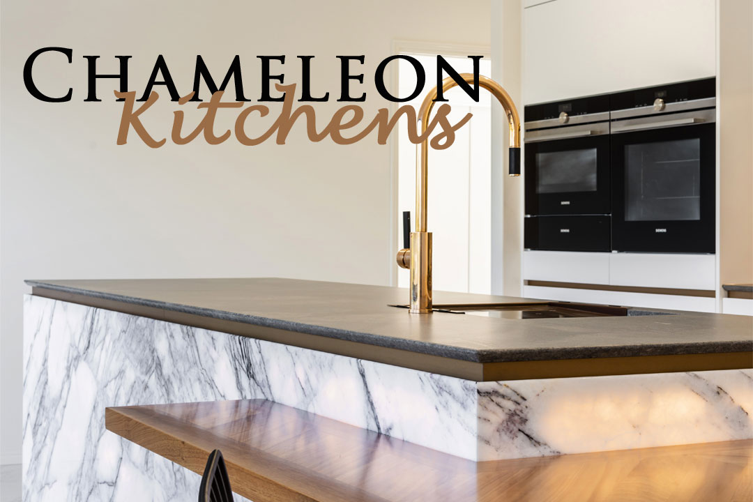 Chameleon Kitchens Queensland Kitchen + Bathroom Design Mason Joinery bench built in table