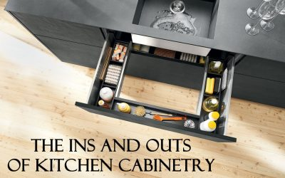 The Ins And Outs Of Kitchen Cabinetry