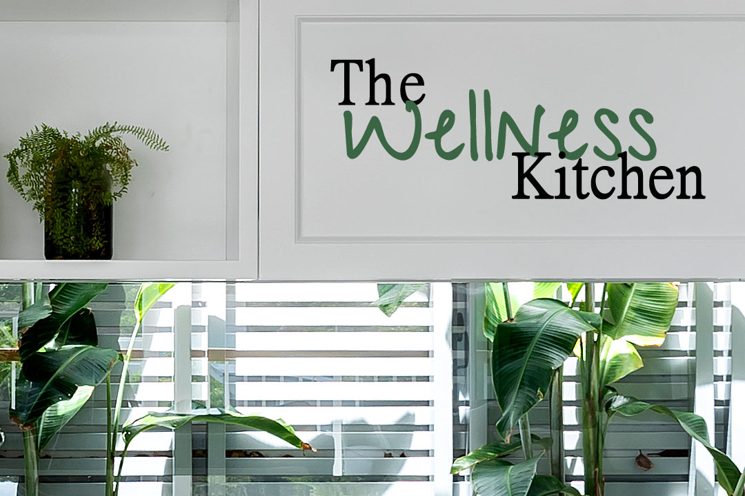 The Wellness Kitchen Queensland Kitchen + Bathroom Design window splashback greenery island bench